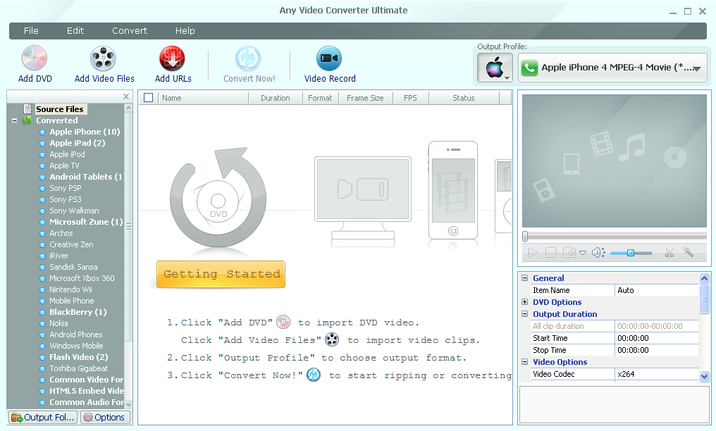 Any Video Converter Pro Crack With License Key Download