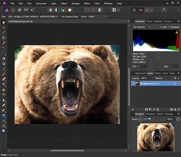 Serif Affinity Photo Crack With Serial Key Free Download